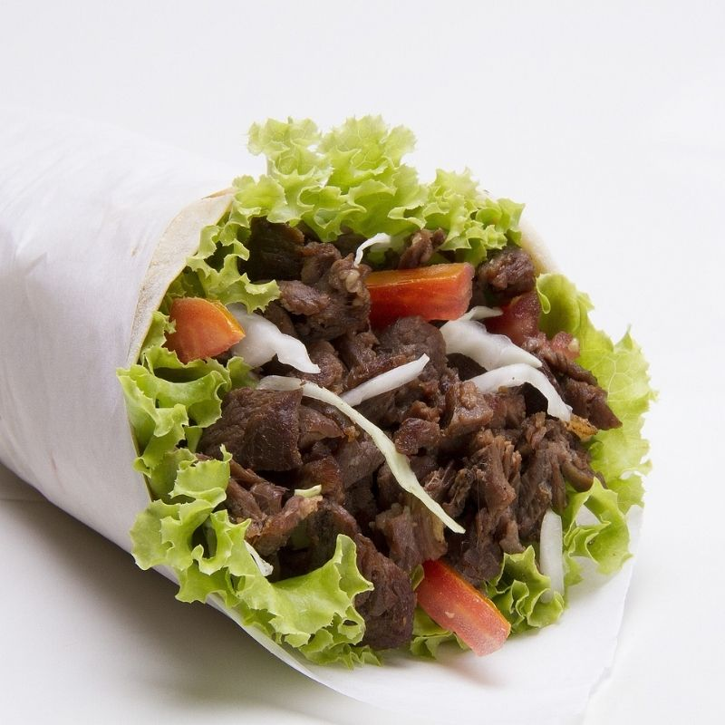 Piadina con Kebab